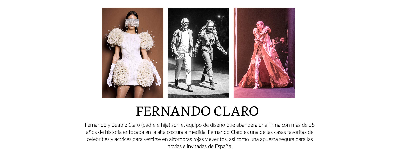 FERNANDO CLARO Vestido Fiesta o Tipo Casual en Punto de Seda