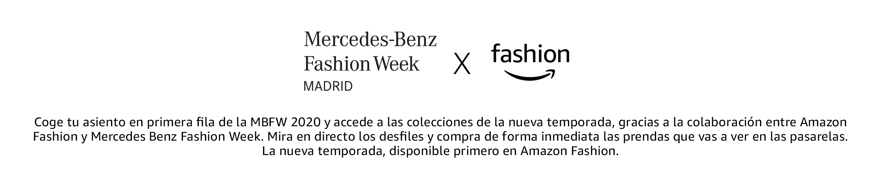 Mercedes-Benz Fashion Week x Amazon Fashion