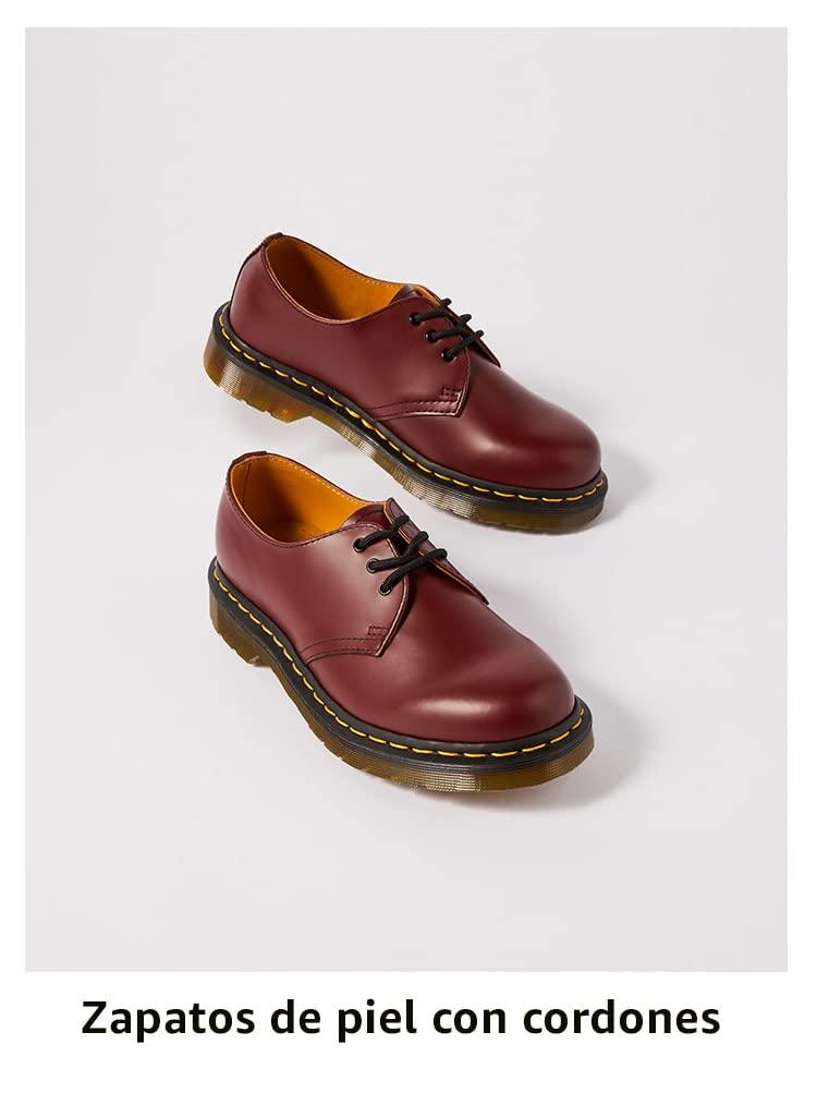 Zapatos de piel con cordones
