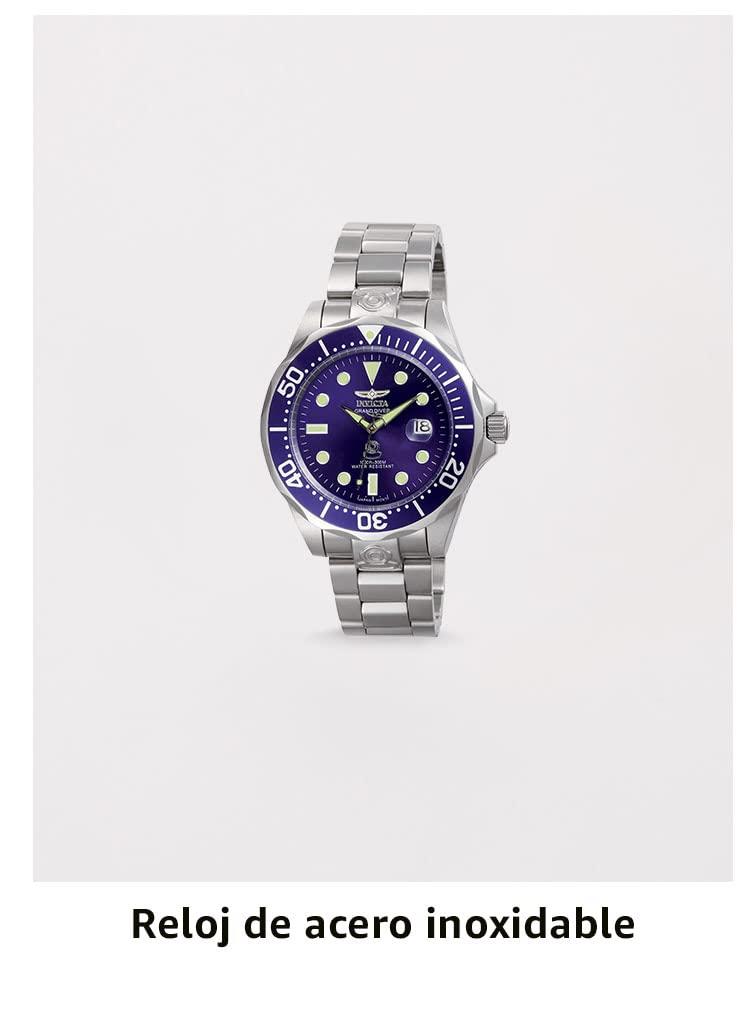 Reloj de acero inoxidable