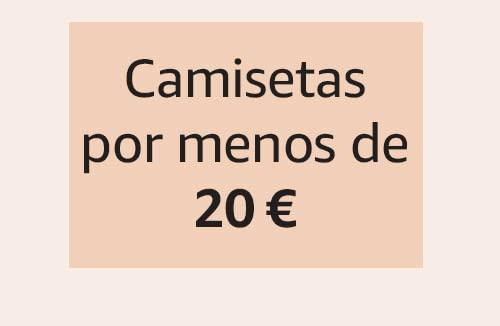 Camisetas por menos de 20 €
