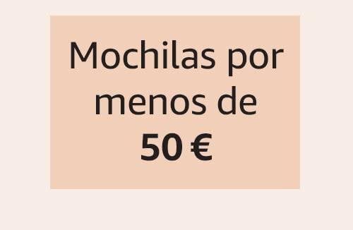 Mochilas por menos de 50 €