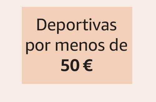 Deportivas por menos de 50 €