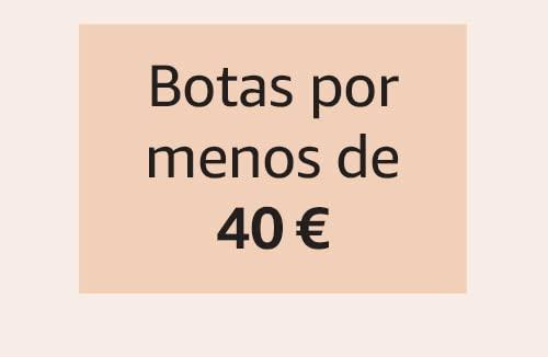 Botas por menos de 40 €