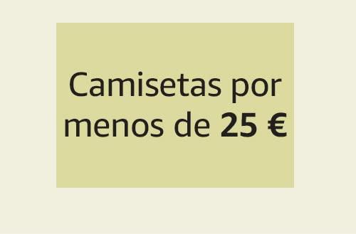 Camisetas por menos de 25 €