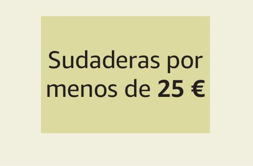 Sudaderas por menos de 25 €