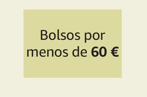 Bolsos por menos de 60 €