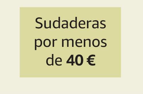 Sudaderas por menos de 40 €
