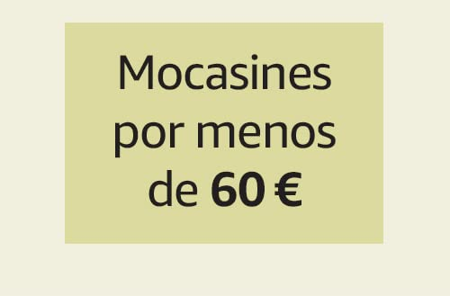 Mocasines por menos de 60 €