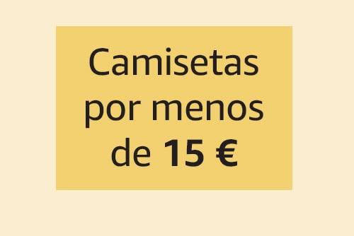 Camisetas por menos de 15€