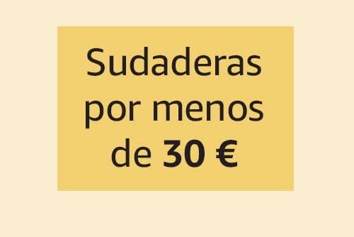 Sudaderas por menos de 30€