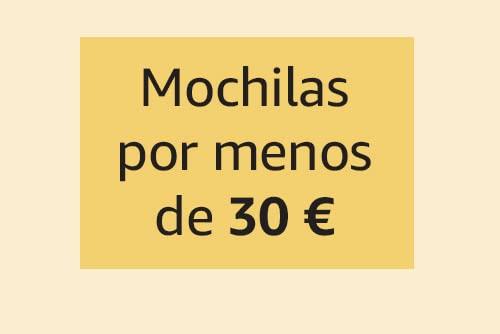 Mochilas por menos de 30€