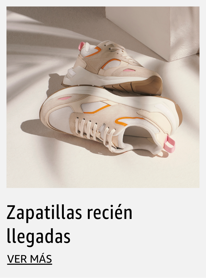 Zapatillas recién llegadas