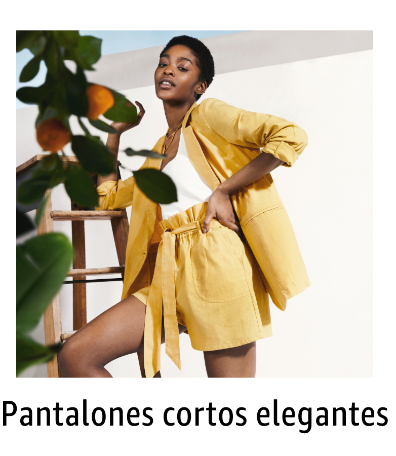 Pantalones cortos elegantes