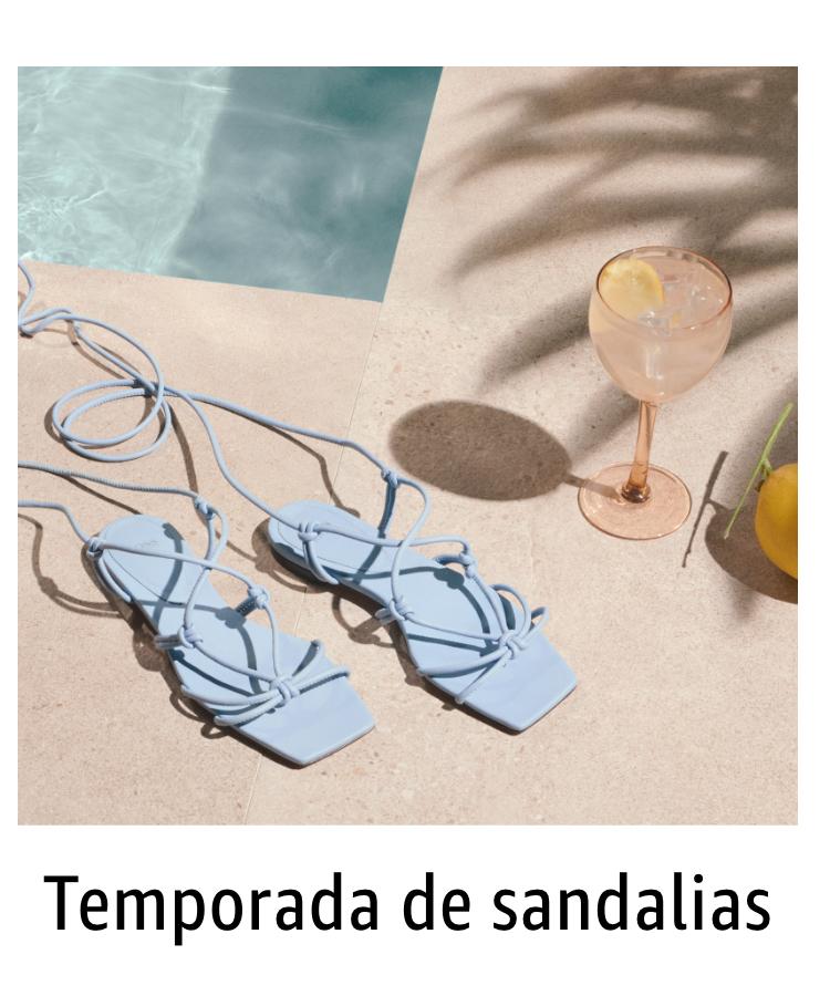 Temporada de sandalias