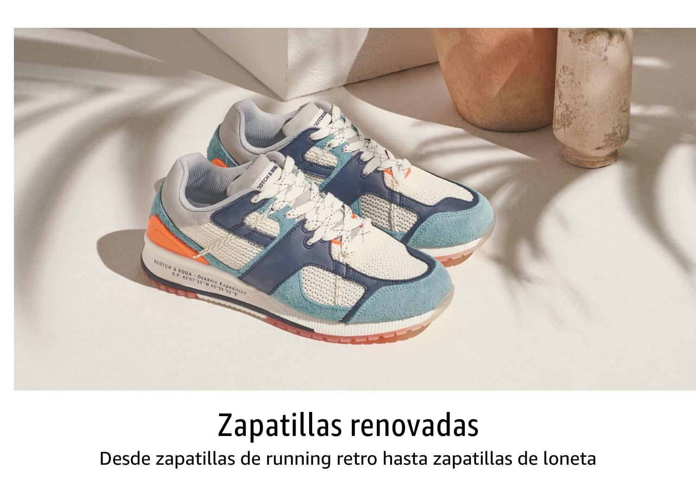 Zapatillas renovadas