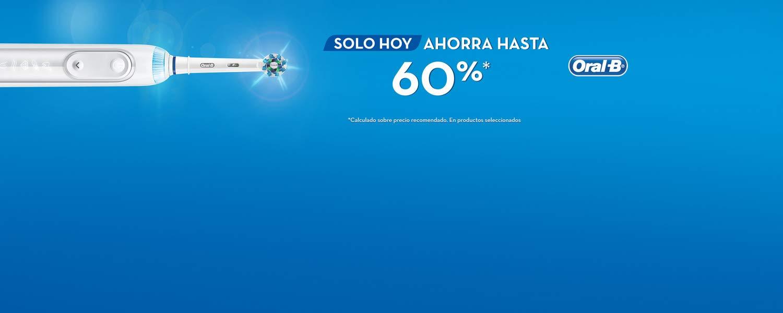 SOLO HOY AHORRA HASTA 60%