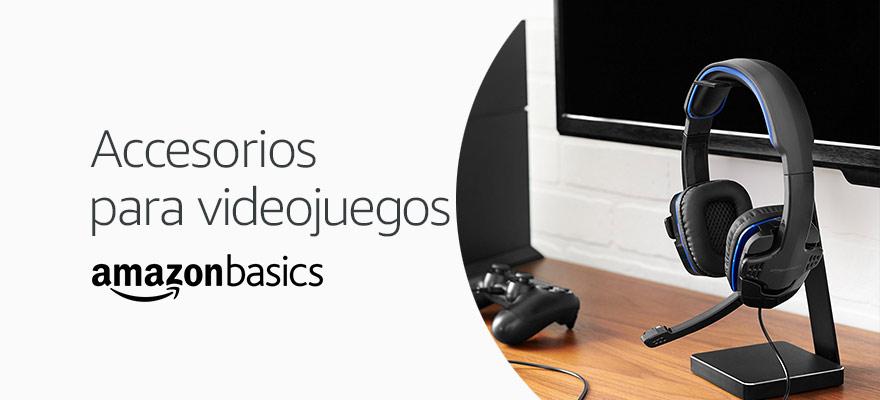 Accesorios para videojuegos AmazonBasics