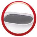 Moulinex OW310130 - Panificadora programable, 700 W, 1 kg, blanco/rojo