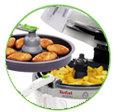 freidora sana actifry 2 en 1 YV9600 tefal - 2 platos al mismo tiempo