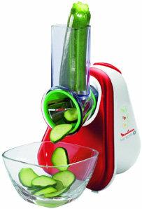 Moulinex Fresh Express Plus - Rallador, 5 funciones, 150 W, 1 L, 1 dB, metal, rojo/blanco: Amazon.es: Hogar