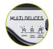 robot de postres tefal multi delices YG6548 - funciones