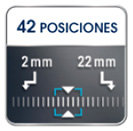 cortapelo MULTI STYLE SPORT TN8210 Rowenta For Men - 42 posiciones