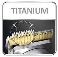 cortapelo MULTI STYLE SPORT TN8210 Rowenta For Men - cuchillas de titanio