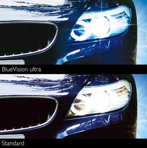 de 2 ampoules de phare Blue Vision Ultra H7: Auto et Moto