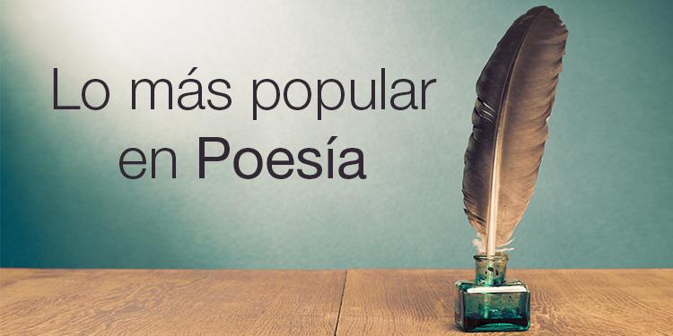 Lo más popular en Poesía