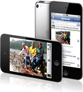 diagrama de vídeos HD en iPod Touch