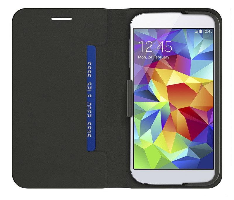 Belkin Classic Folio - Funda para móvil Samsung Galaxy S5, color negro