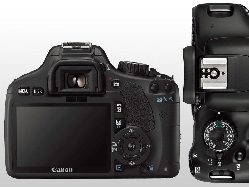 Canon EOS 550D - Cámara réflex Digital de 18 MP (Pantalla
