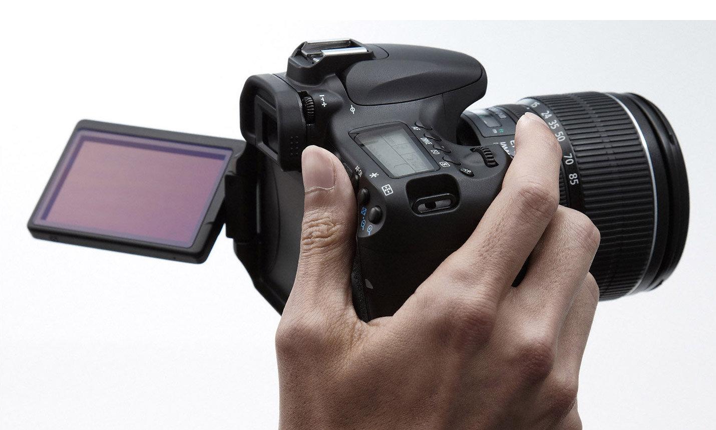 Canon EOS 60D - Cámara réflex Digital de 18 MP (Pantalla ...