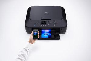 Canon PIXMA MG5550 - Impresora multifunción de Tinta - B/N 12 PPM ...