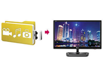 LG 22MA33D-PZ - Monitor TV LED de 21.5 Pulgadas, Full HD, Color ...
