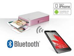 LG Electronics PD233 - Pocket Photo, Impresora Portable, Bluetooth, QR Code