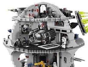 Lego star wars death star 10188 lego star wars for Interieur vaisseau star wars