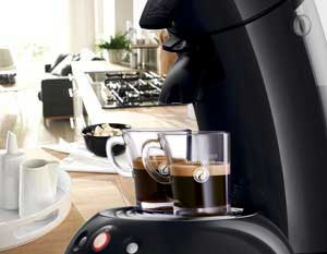 Philips Senseo Original HD7811/62 - Cafetera de monodosis, color negro