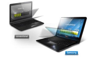 ... el SSD no tiene partes móviles (por ejemplo, los platos no son móviles) y por ello no es vulnerable a las vibraciones. De ahí que sea fácil y eficiente ...