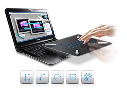 Nuevo touch pad de Samsung, más grande, más elegante y más cómodo. Con un recubrimiento de cristal y sensor de imagen, los usuarios pueden disfrutar de un ...