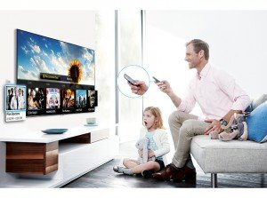 Samsung UE22F5410 - Televisor LED de 22 pulgadas con SmartTV (Full HD 1080p, Clear Motion Rate 100 Hz) color blanco: Amazon.es: Electrónica