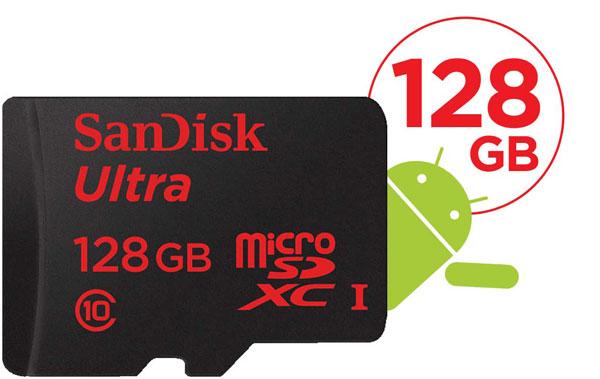 SanDisk SDSDQUA-128G-G46A 128 GB Class 10 MicroSDXC Ultra UHS-I ...