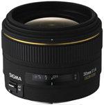 Sigma 30/1,4 DC/EX/HSM - Objetivo para Canon (Distancia Focal Fija ...