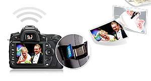 Tarjeta de memoria Flash Wi-Fi de 16 GB de Transcend (SDHC, Clase ...