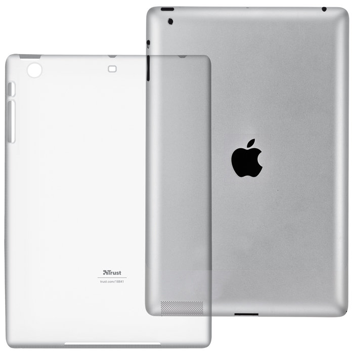 Trust 18841 - Funda para tablet Apple iPad Mini, transparente