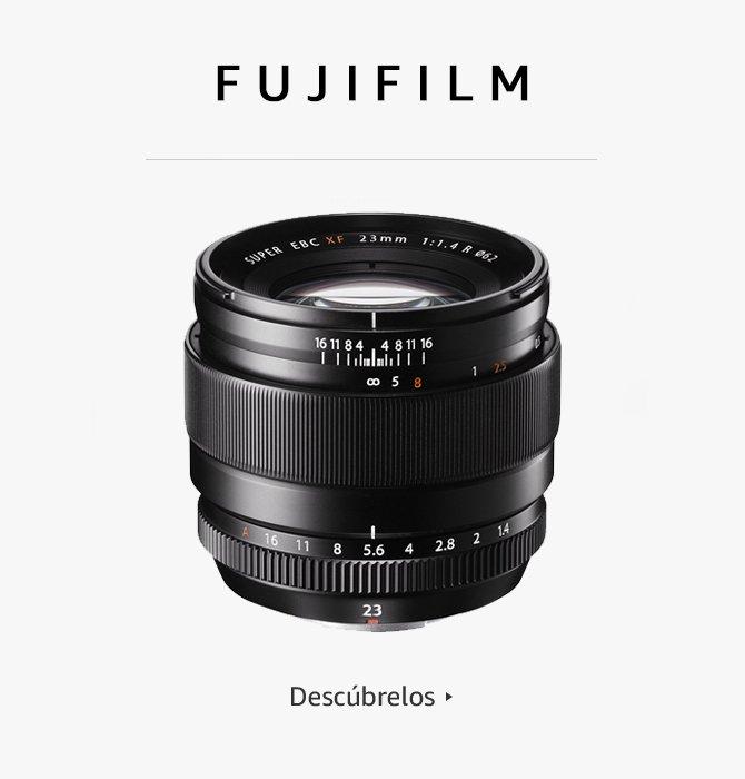 Fujifilm objetivos