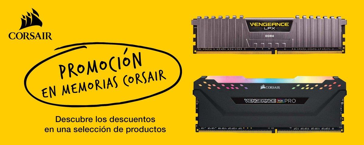 Promocion Corsair DRAM