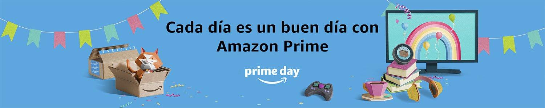 Prime Day Cada dñia es un buen día con Amazon Prime