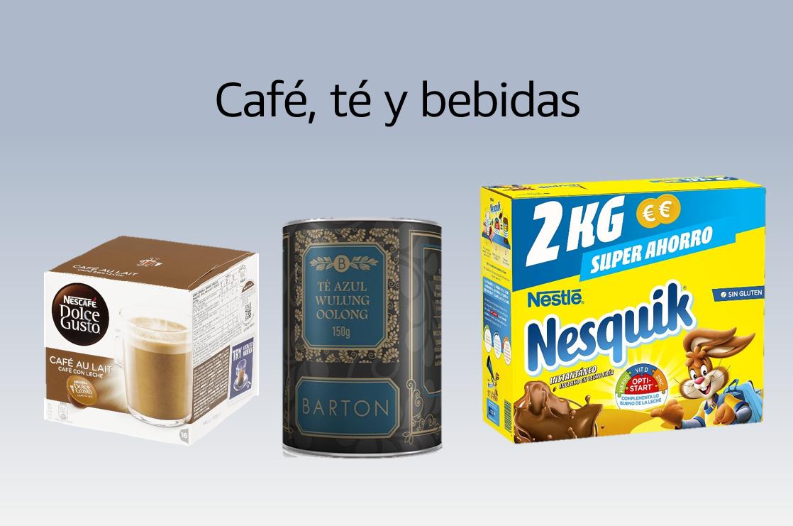 Café, té y bebidas